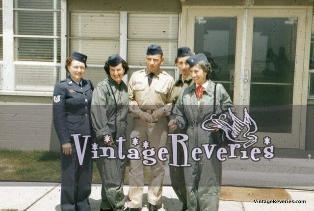 1950s AirForce Women and Men Picture