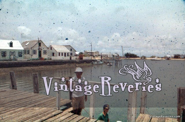 Fishing village in the 50s