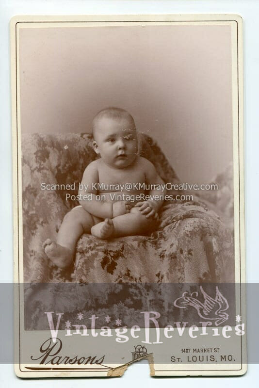 turn of the century baby photo