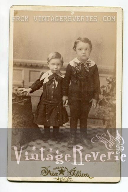 young boys photograph 1800s st louis