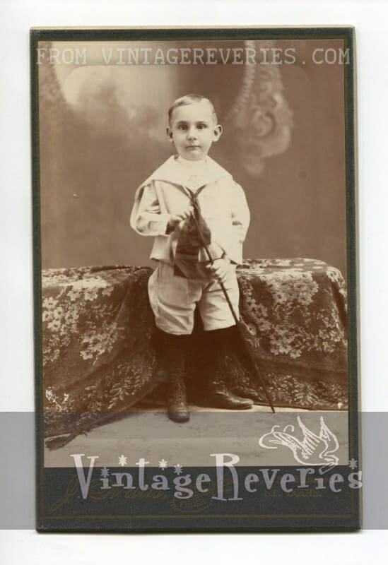 turn of the century child photo