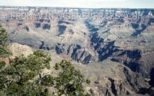 Vintage Grand Canyon Photograph