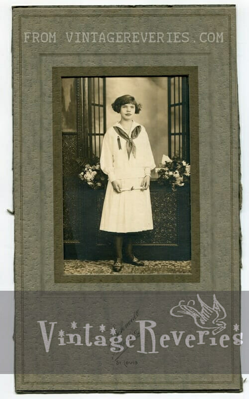 early 1900s girl photo