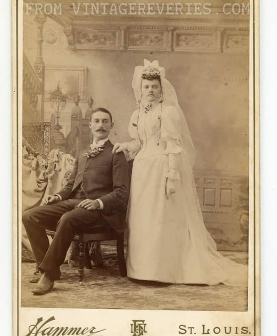 Turn of the century wedding, couples, and portraiture