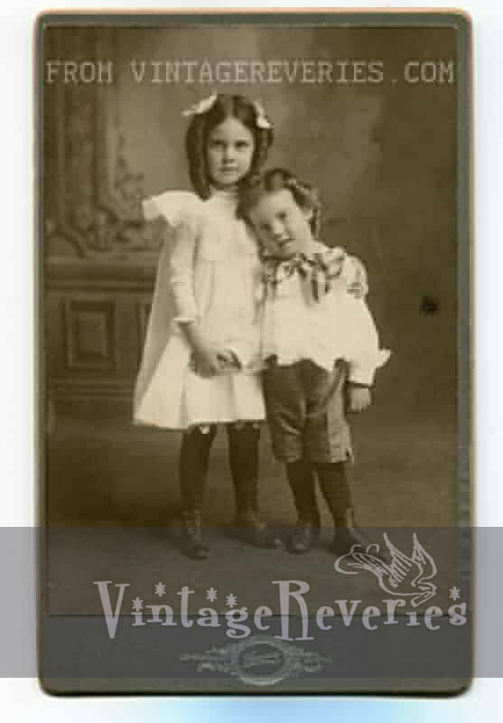 1890s brother and sister