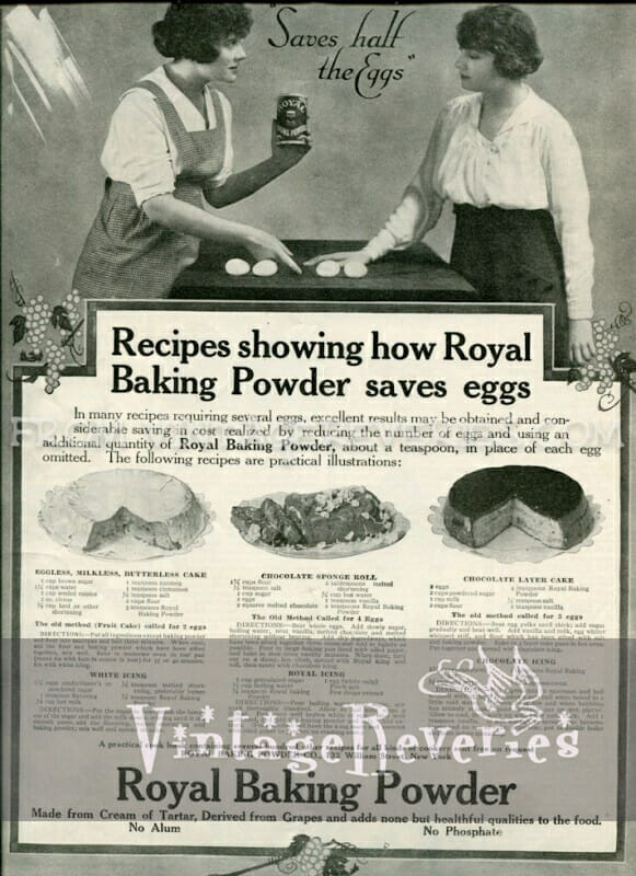 vintage baking powder advertisement