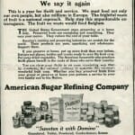 turn of the century Domino sugar advertisement