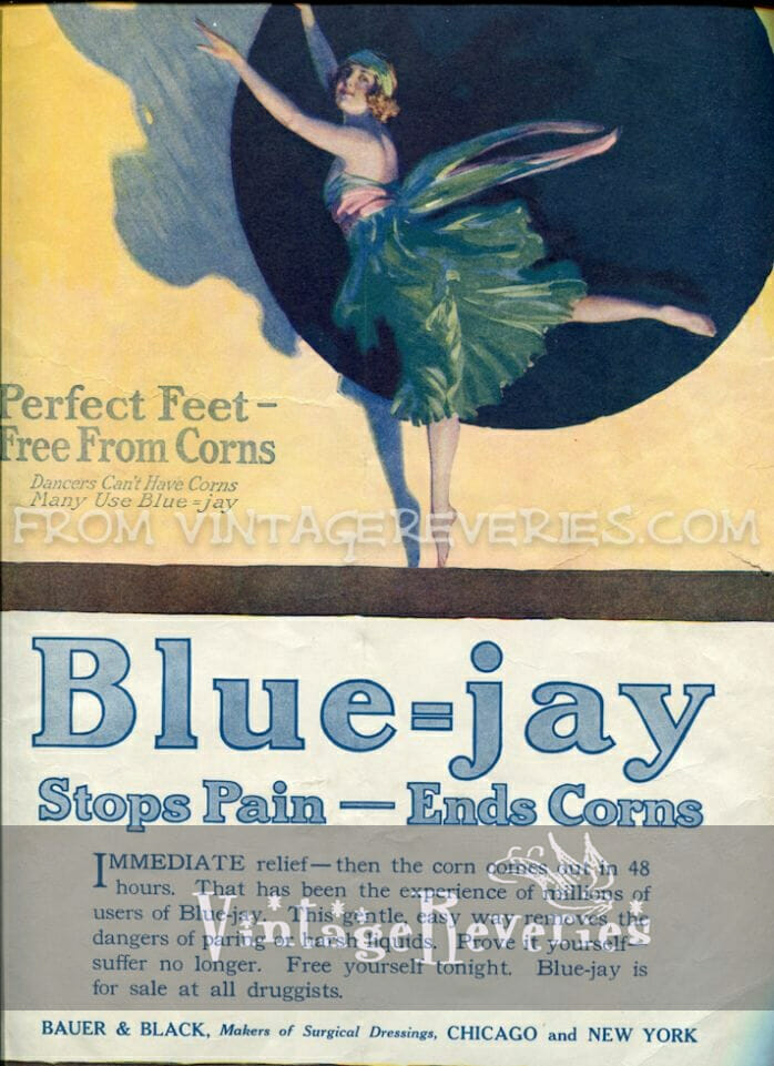 Old Sugar Advertisement for Blue-jay sugar