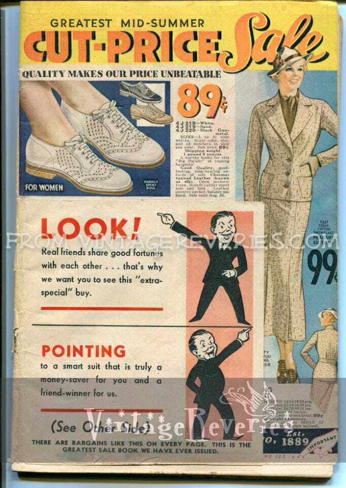 1935 Fashion Catalog