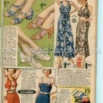 1935 Shoe fashions for women, men, and children photo old catalogs