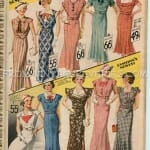 1935 Dress fashions