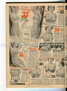 1930s brassiers and garters fashions