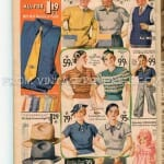 1935 mens, women's, children's family fashions