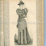 1890s fashion magazine scan