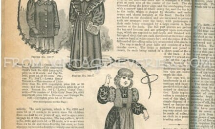 1890s Children's Fashions – styles for boys and girls