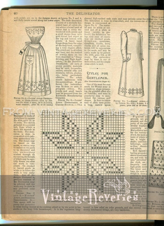 1892 cross stitch pattern