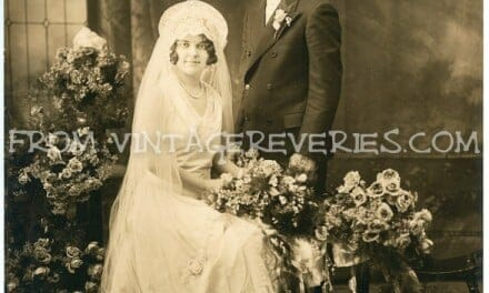 1912 Wedding Portrait