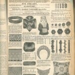 How to Measure for a Victorian Pattern   and The back pages of the 1892 Delineator Fashion Magazine  photo old magazines