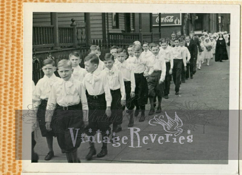 1930s catholic school boys