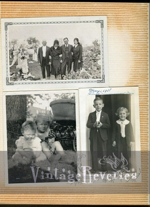 1930s childrens and family pics
