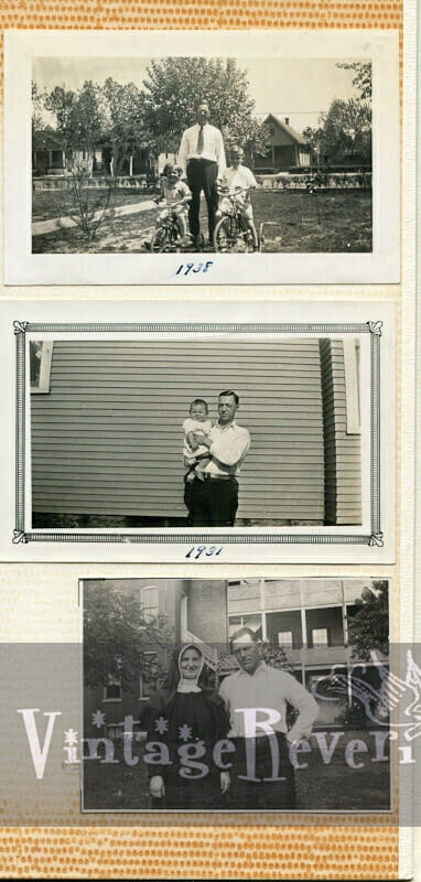 1930s father and daughter pics