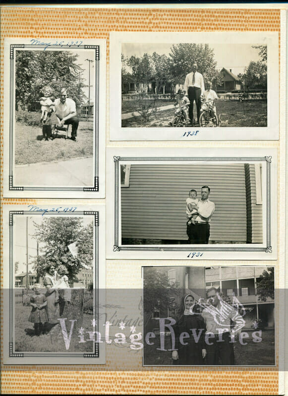 1938 family photos