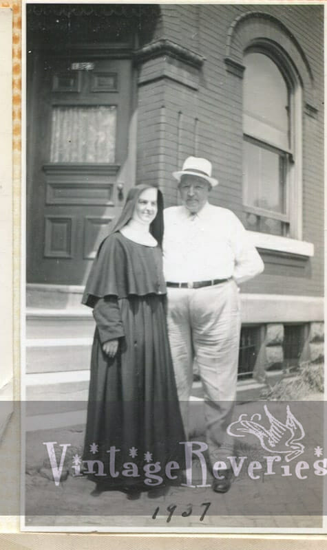 1930s nun with a man
