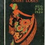 1924 St Louis Fashion Pageant magazine
