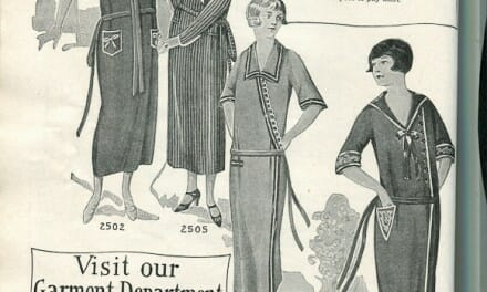 1924 Fashion Illustrations – dresses and hats