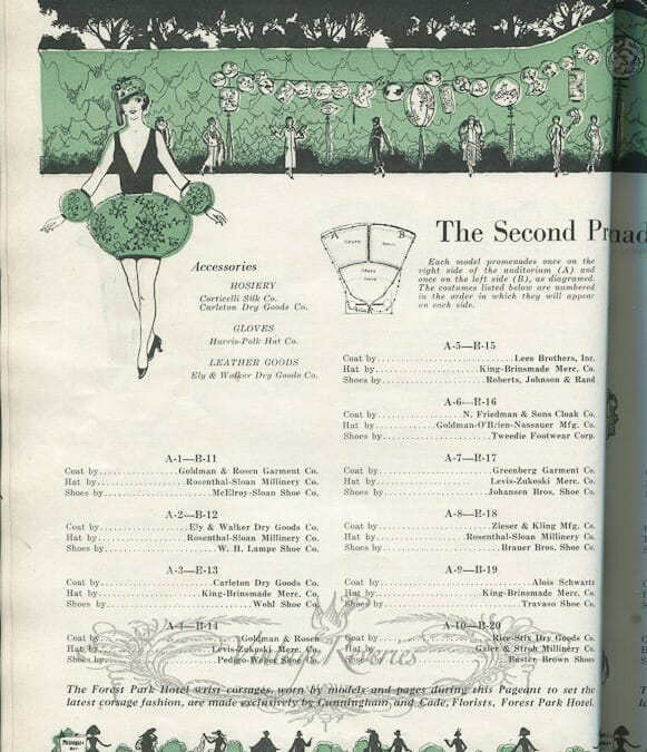 The St. Louis Fashion Pageant – 1924, Pt 2