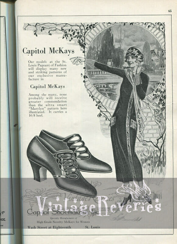 1924 McKays Shoes Advertisement