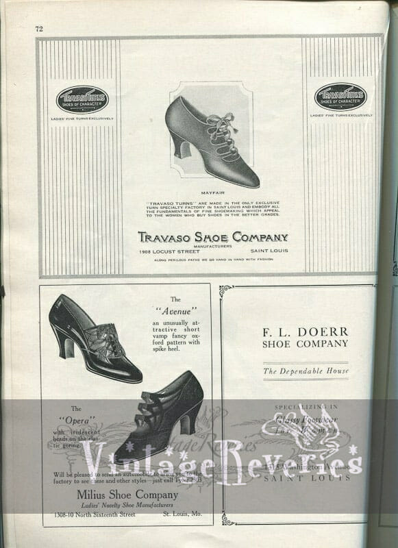 1920s shoe ad St Louis