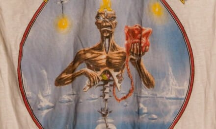 SOLD! Iron Maiden Seventh Son 1988 tour tshirt