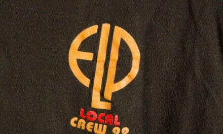 Emerson Lake & Palmer Band ELP 92 Tour Local Crew TShirt