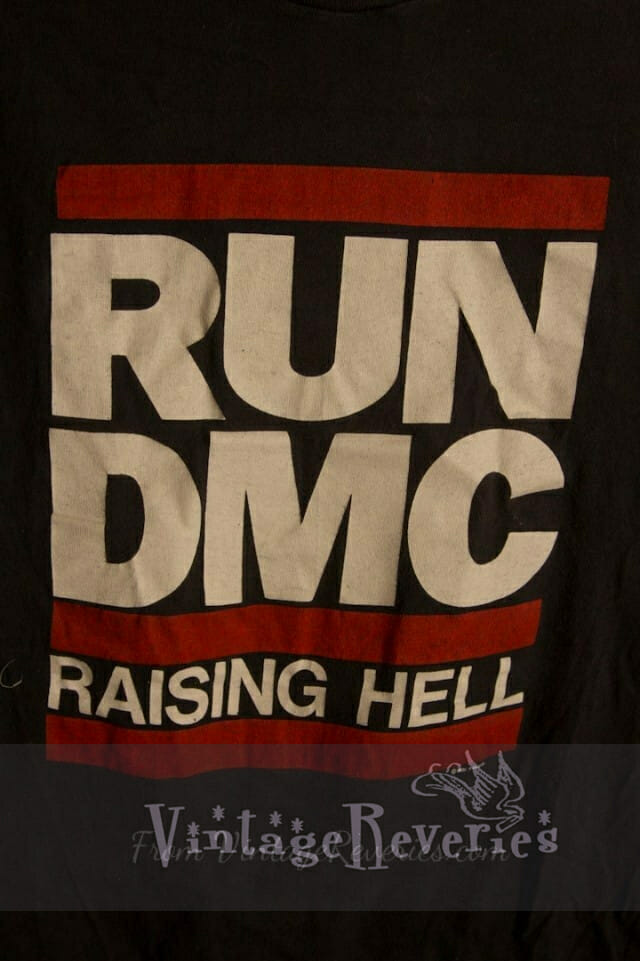1986 Run DMC Raising Hell Tour Tshirt – RARE