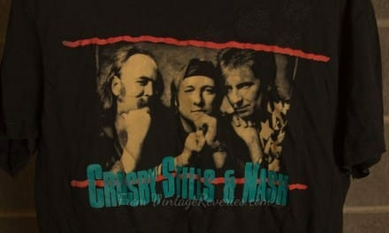 Crosby Stills & Nash Vintage Tshirt from their 1988 stop in St. Louis