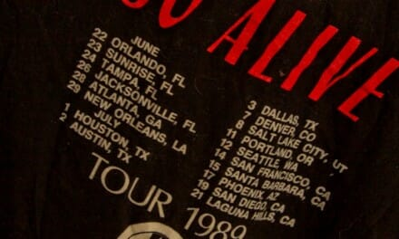 Love and Rockets 1989 So Alive Tour – Rare Vintage Tshirt – SOLD