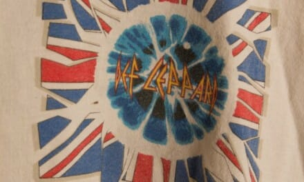 "Rare Crew Tshirt: Def Leppard Adrenalize ""Seven Day Weekend"" Tour – XL"