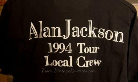 Alan Jackson 1994 Tour Local Crew – stagehand tshirt