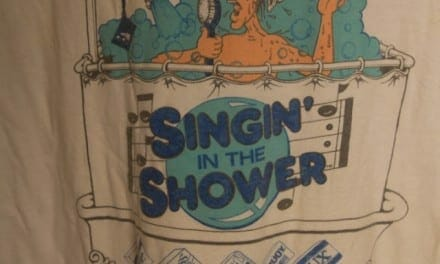Singin' in the Shower Vintage Tshirt
