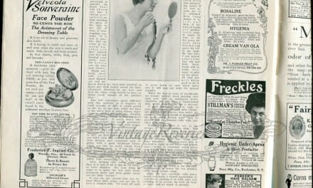 Advertisements and back pages from The Modern Priscilla July 1913