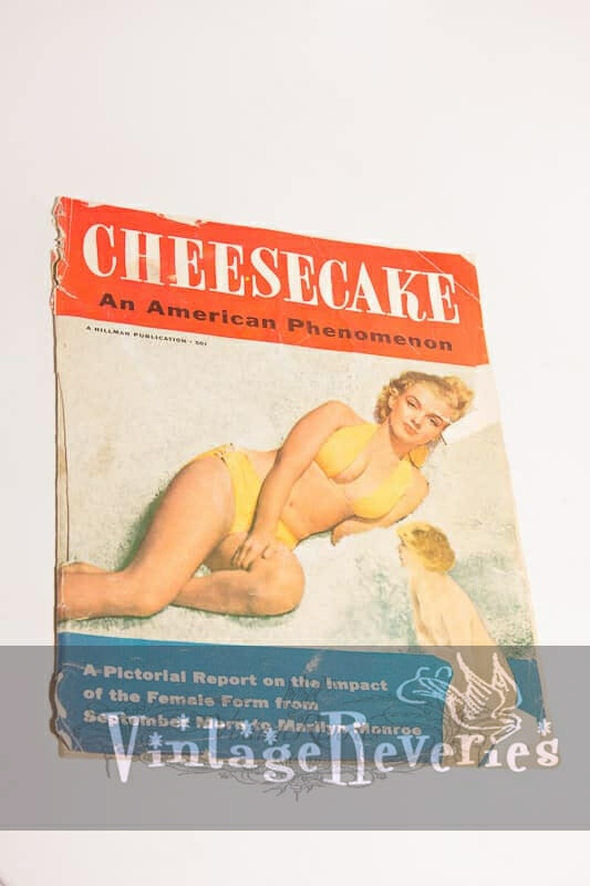 1953 Magazine CHEESECAKE Pin-Ups MARILYN MONROE Cover GOOD GIRL ART Strippers TV