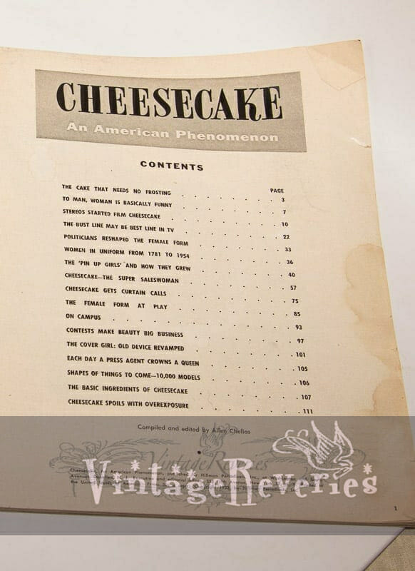 1950s cheesecake magazine