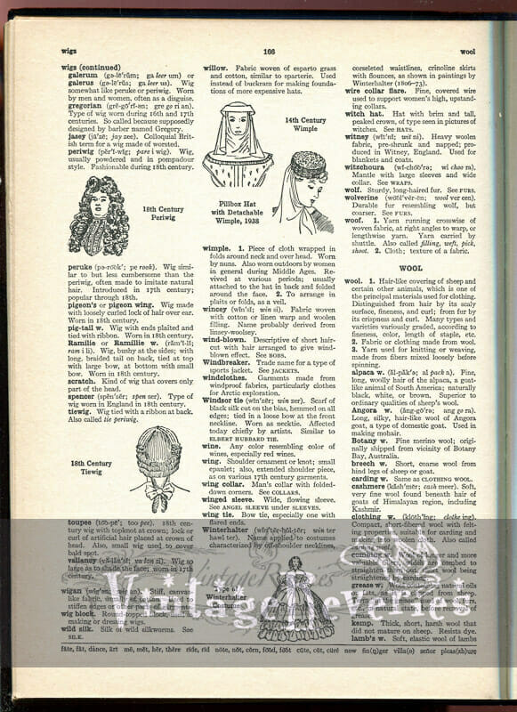 history of wigs