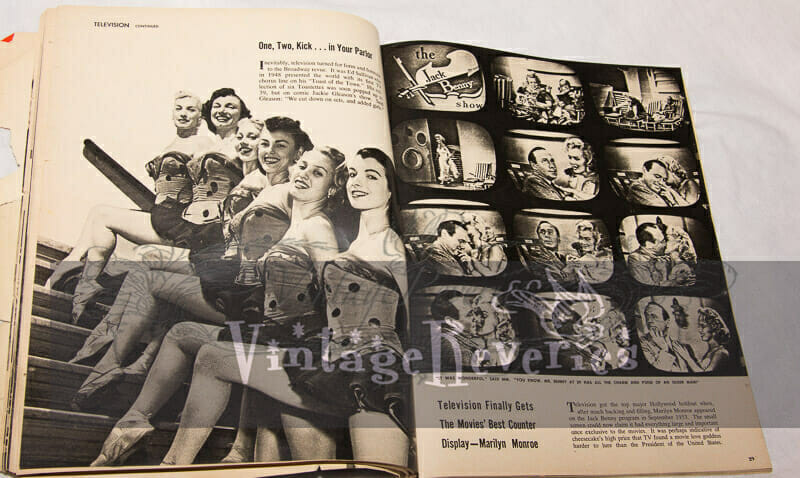 1950s television pinups