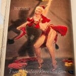 The evolution of chorus girls and showing skin on stage photo old magazines