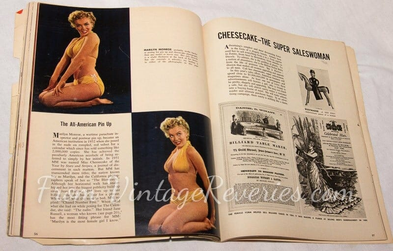 Marilyn Monroe and Pinups in advertising history