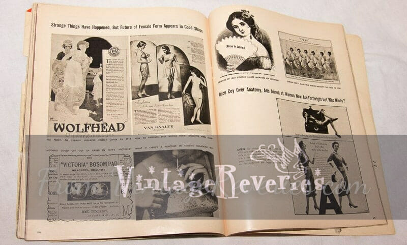 lingerie advertisement history
