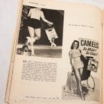 Pinups on billboards, book covers, and record covers. photo old magazines