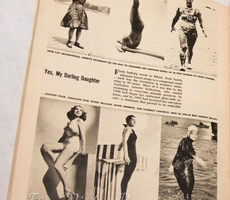 History of Women's Swimwear and Sports Fashions